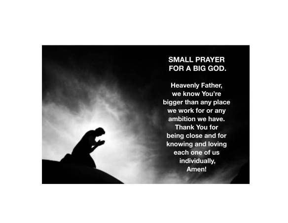 Small prayer